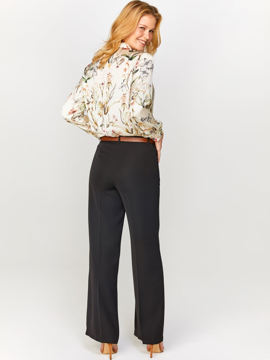 Wide Leg Pantolon 60070
