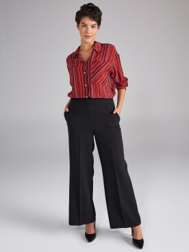 Wide Leg Form Pantolon 61679